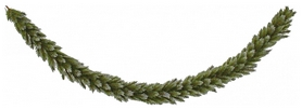 Гирлянда искусственная Triumph Tree Edelman Pittsburgh зеленая с инеем, 2,1 м (8717669775843)