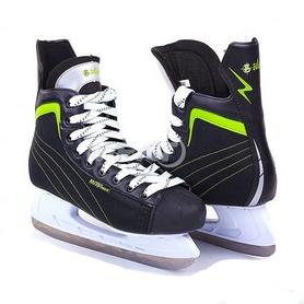 Коньки хоккейные Zelart PVC Z-4496