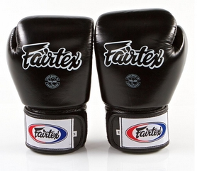 Перчатки боксерские Fairtex BGV1 - черные (BGV1-blk)