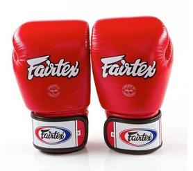 Перчатки боксерские Fairtex BGV1 - красные (BGV1-red)
