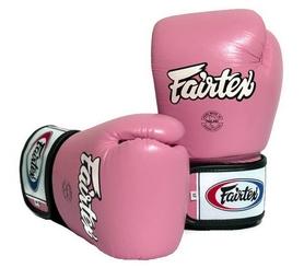 Перчатки боксерские Fairtex BGV1 - розовые (BGV1-pnk)