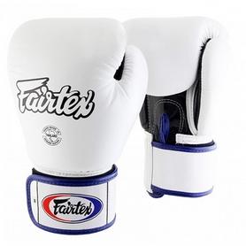 Перчатки боксерские Fairtex BGV1 - белые (BGV1-wht)