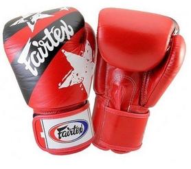 Перчатки боксерские Fairtex BGV1 Red Nation (BGV1-r/n)