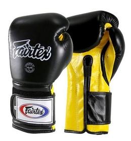 Перчатки боксерские Fairtex (BGV9-blk/yllw)