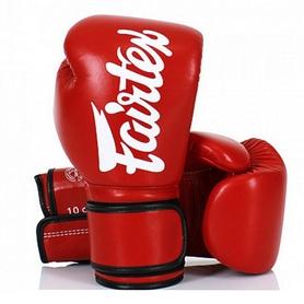 Перчатки боксерские Fairtex BGV14 - красные (BGV14-red)