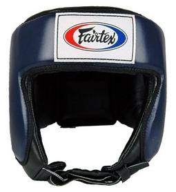 Шлем боксерский Fairtex HG9, синий