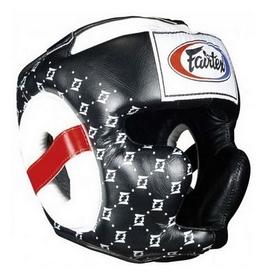 Шлем боксерский Fairtex HG10, черный