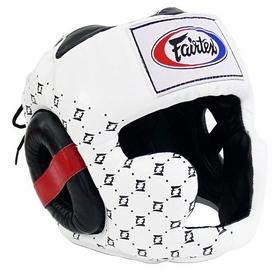 Шлем боксерский Fairtex HG10, белый
