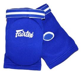 Щитки защитные для локтей из ткани Fairtex EBE1, синие (EBE1-bl)