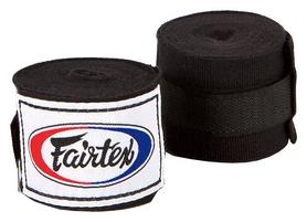 Бинты для рук Fairtex HW2 - черные, 4,5 м (HW2-blk-180)