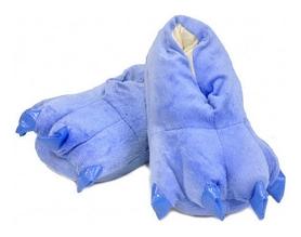 Тапочки домашние кигуруми CDRep Лапы, синие (FO-115659)