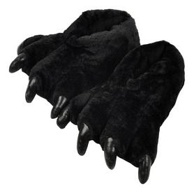 Тапочки домашние кигуруми CDRep Лапы, черные (FO-115598)