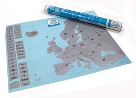"Карта скретч ""Европа"" CDRep 122296"