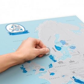 "Карта скретч ""Европа"" CDRep 122296 - Фото №2"