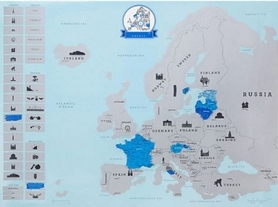 "Карта скретч ""Европа"" CDRep 122296 - Фото №3"
