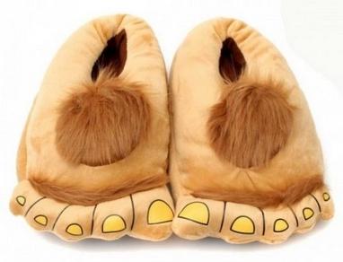 Тапочки домашние CDRep, коричневые (110707)