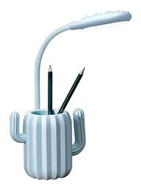 Лампа настольная CDRep Кактус, голубая (FO-123662)