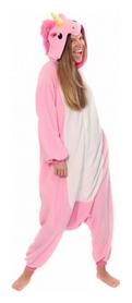 Пижама в звездочку Кигуруми CDRep Единорог, розовая (FO-KGR-EDR2)