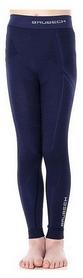 Термокальсоны детские Brubeck Active Wool, синие (LE12120-navy blue)