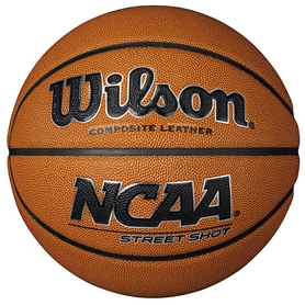 Мяч баскетбольный Wilson NCAA Street Shot Comp SZ7 SS18 №7 (WTB0945XB)