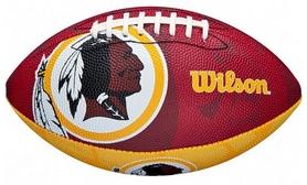 Мяч для американского футбола Wilson NFL JR Team Logo FB WS SS18 (WTF1534XBWS)