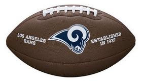 Мяч для американского футбола Wilson NFL Team Logo FB XB SS18 WTF1748XBLA
