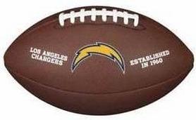 Мяч для американского футбола Wilson NFL Team Logo FB XB SS18 WTF1748XBLAC