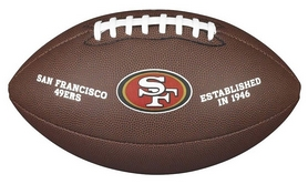 Мяч для американского футбола Wilson NFL Licensed Ball SF SS18 (WTF1748XBSF)