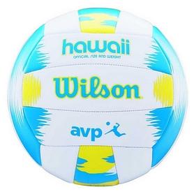 Мяч волейбольный Wilson AVP Hawaii SS18, желтый (WTH482657XB)