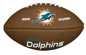Мяч для американского футбола Wilson NFL Mini Team Logo FB MI SS18 (WTF1533XBMI)