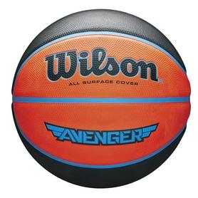 Мяч баскетбольный Wilson Avenger OR/BLU 295 BSKT SZ7 SS18 №7 (WTB5550XB0701)