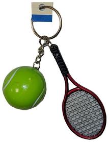 Брелок теннисная ракетка и шарик fb-2105