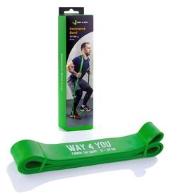Тренажер – резиновая петля Way4you, зеленый (w40005)