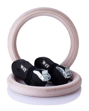 Кольца гимнастические Way4you (w40061)
