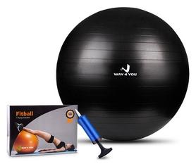 Мяч для фитнеса (фитбол) Way4you, 65 см (w40121)
