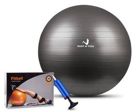 Мяч для фитнеса (фитбол) Way4you, 75 см (w40122)