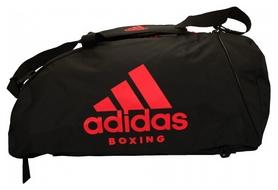 Сумка-рюкзак спортивная 2 в 1 Adidas - красная, М (ADIACC052B-R-M)