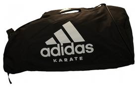 Сумка спортивная Adidas Karate - белая, М (CC055K-W-M)