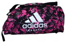 Сумка-рюкзак спортивная 2 в 1 Adidas Karate - розовая, M (ADIACC058K-P-M)