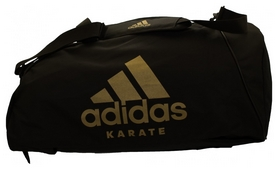Сумка-рюкзак спортивная 2 в 1 Adidas Karate, L (CC052K-BLK-L)