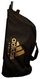 Сумка спортивная на колесах Adidas boxing Karate - золотая, 120 л (CC057K-G-120)