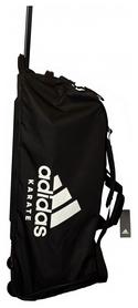 Сумка спортивная на колесах Adidas boxing Karate - белая, 120 л (CC057K-W-120)