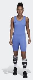 Трико тяжелоатлетическое Adidas PowerLiftSuit, синее (CW5646)