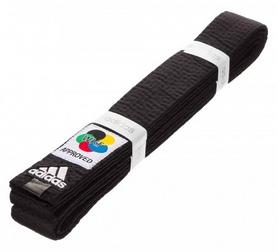 Пояс для кимоно Adidas Elite WKF, 280 см (Adi-El-WKF-Blk-280)