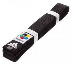 Пояс для кимоно Adidas Elite WKF, 320 см (Adi-El-WKF-Blk-320)
