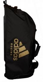 Сумка спортивная на колесах Adidas boxing - 120 л, золотая (ADIACC057B-G-120)
