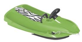 Санки управляемые Hamax Sno Zebra, зелено-серые (HAM503516)