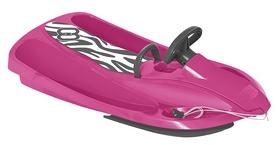 Санки управляемые Hamax Sno Zebra, розово-серые (HAM503515)