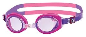 Очки для плавания детские Zoggs Little Ripper, розовые (304442)