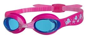 Очки для плавания детские Zoggs Little Twist, розовые (302515)